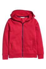 Hooded jacket - Red - Kids | H&M CN 2
